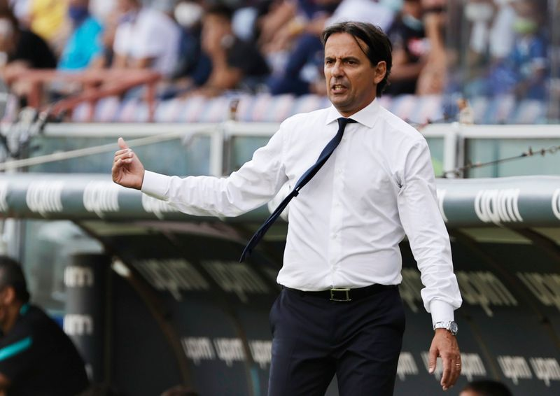 Soccer - Inter looking to put past behind them against Real - Inzaghi