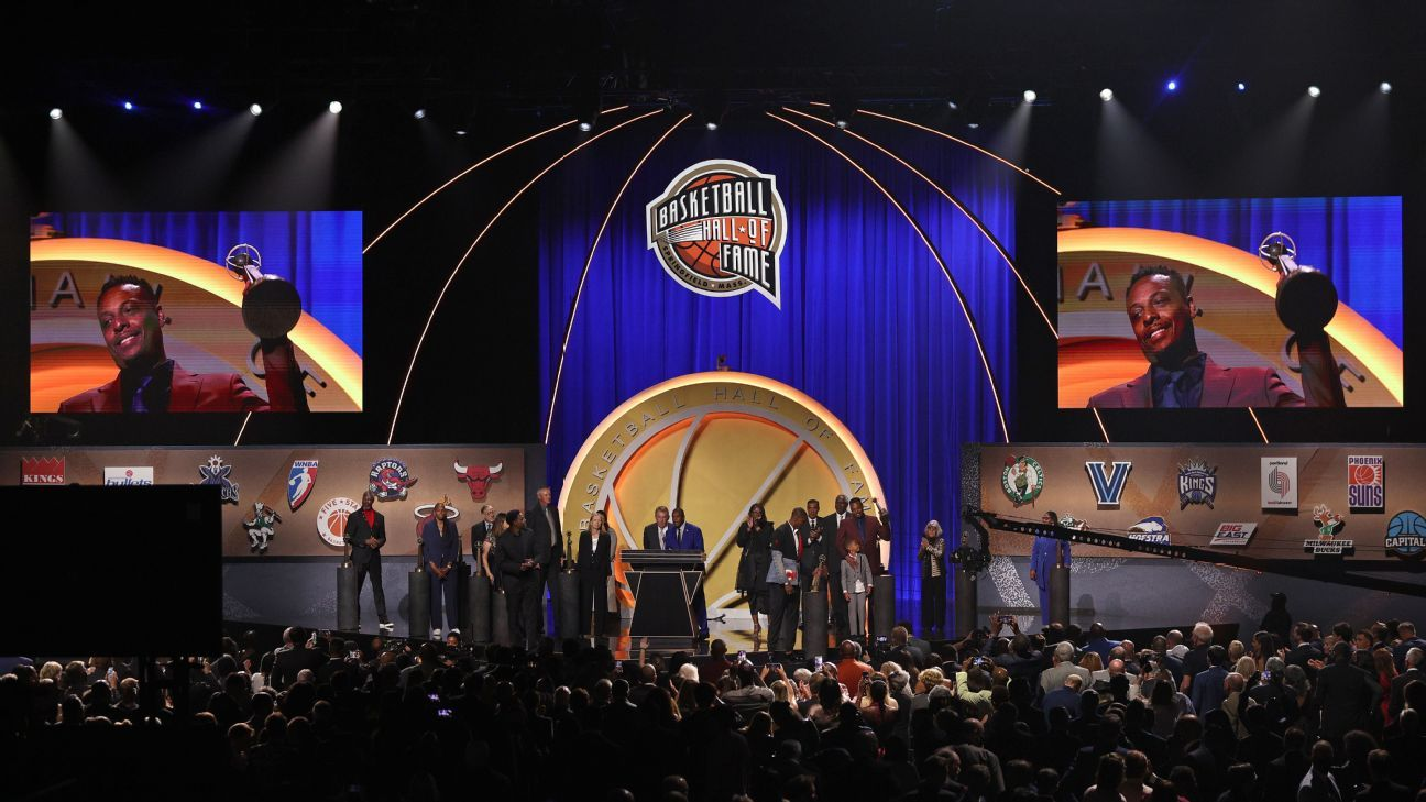 Paul Pierce, Chris Bosh among 16 inducted into Basketball Hall of Fame as part of Class of 2021