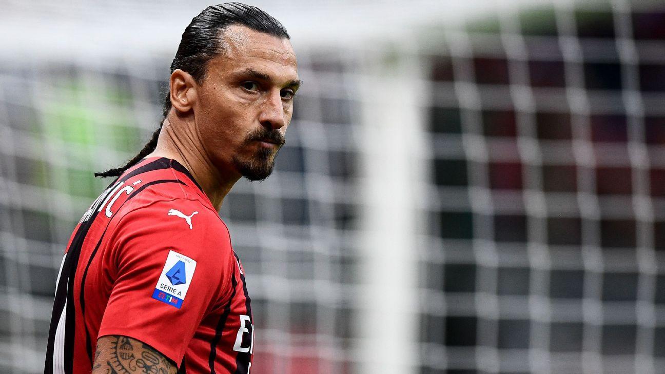 Zlatan Ibrahimovic to miss AC Milan-Liverpool clash in Champions League