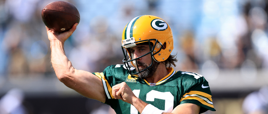Aaron Rodgers Says The First Pick He Threw Against The Saints Is 'Entirely Due To The Double Nut Shot I Took'