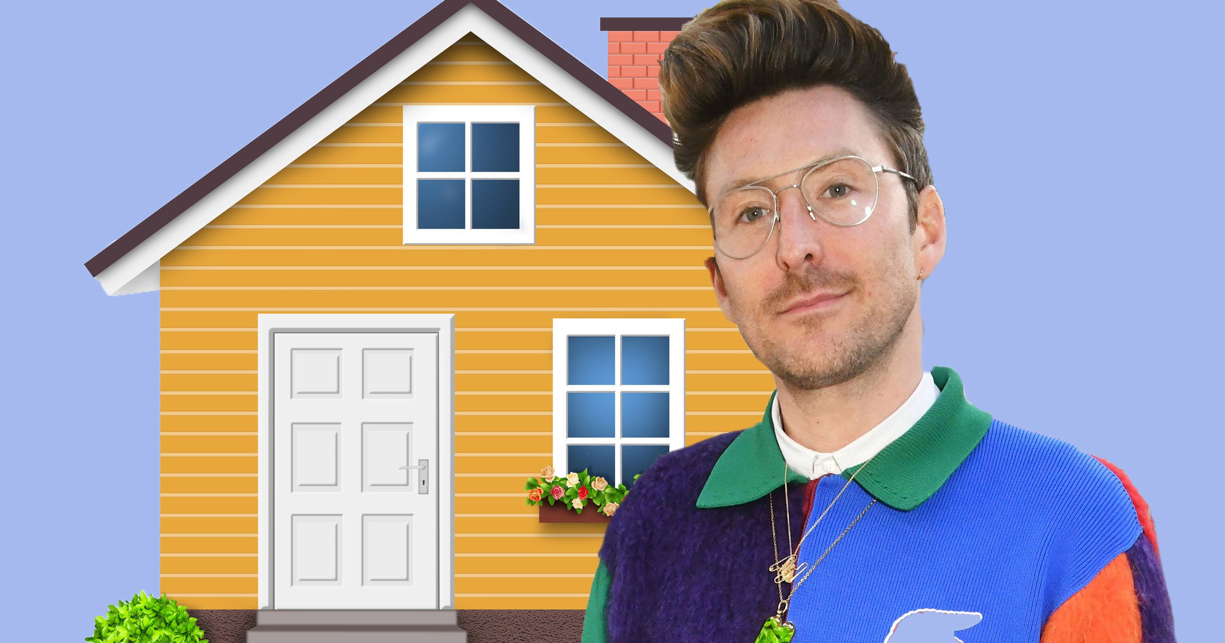 Fashion designer Henry Holland shares his pride in progressing to 'grown up' five-bed home in Hackney