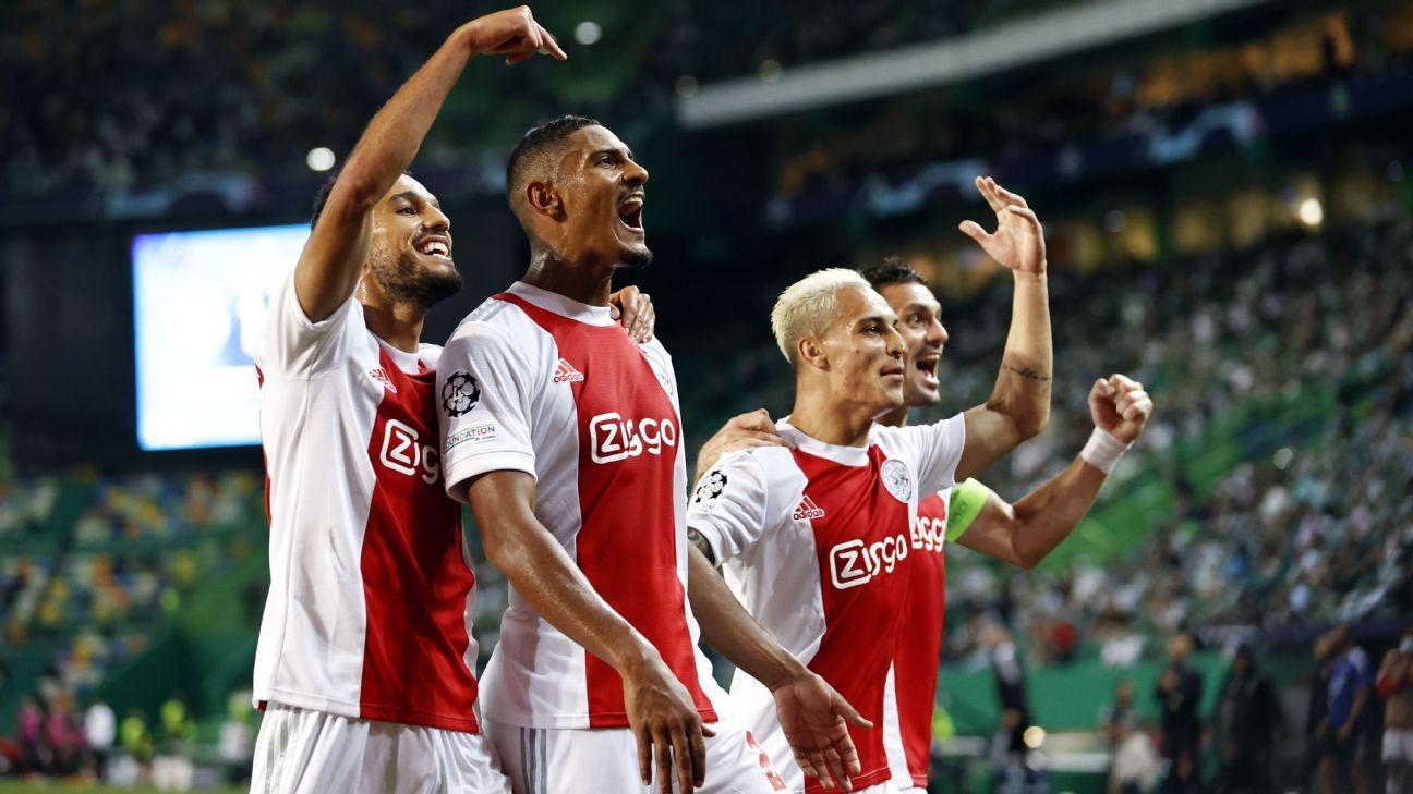 Sporting CP vs. Ajax Amsterdam - Football Match Report - September 15, 2021