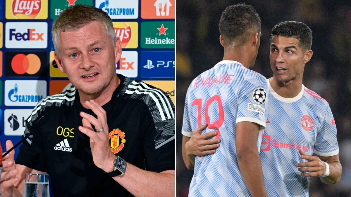 Ole Gunnar Solskjaer explains subbing off Cristiano Ronaldo and Bruno Fernandes during Manchester United's Champions League defeat to Young Boys