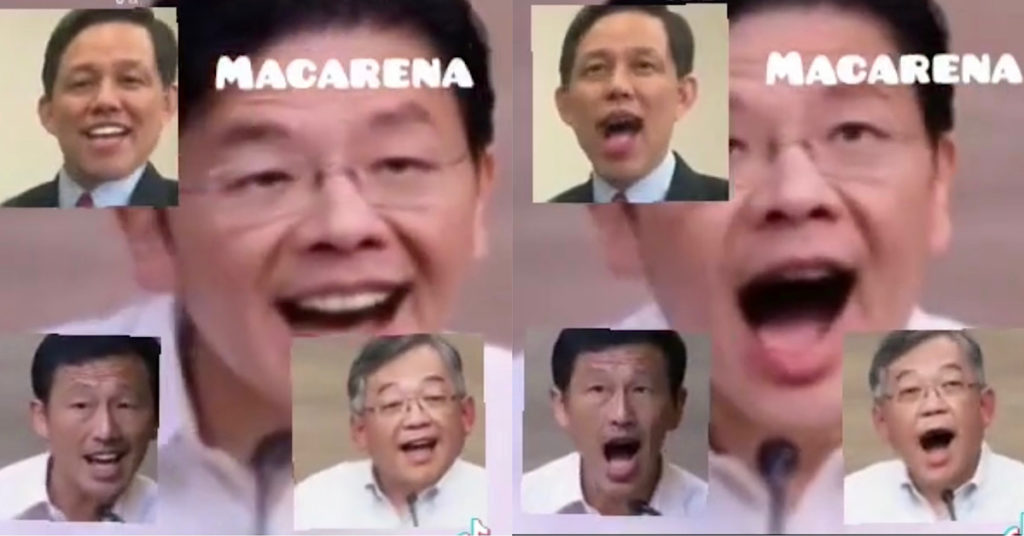Netizen makes video of covid task force ministers singing macarena