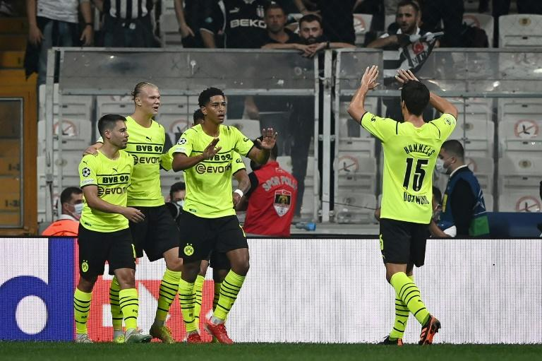 Kiss and assist as Bellingham inspires Dortmund to win at Besiktas