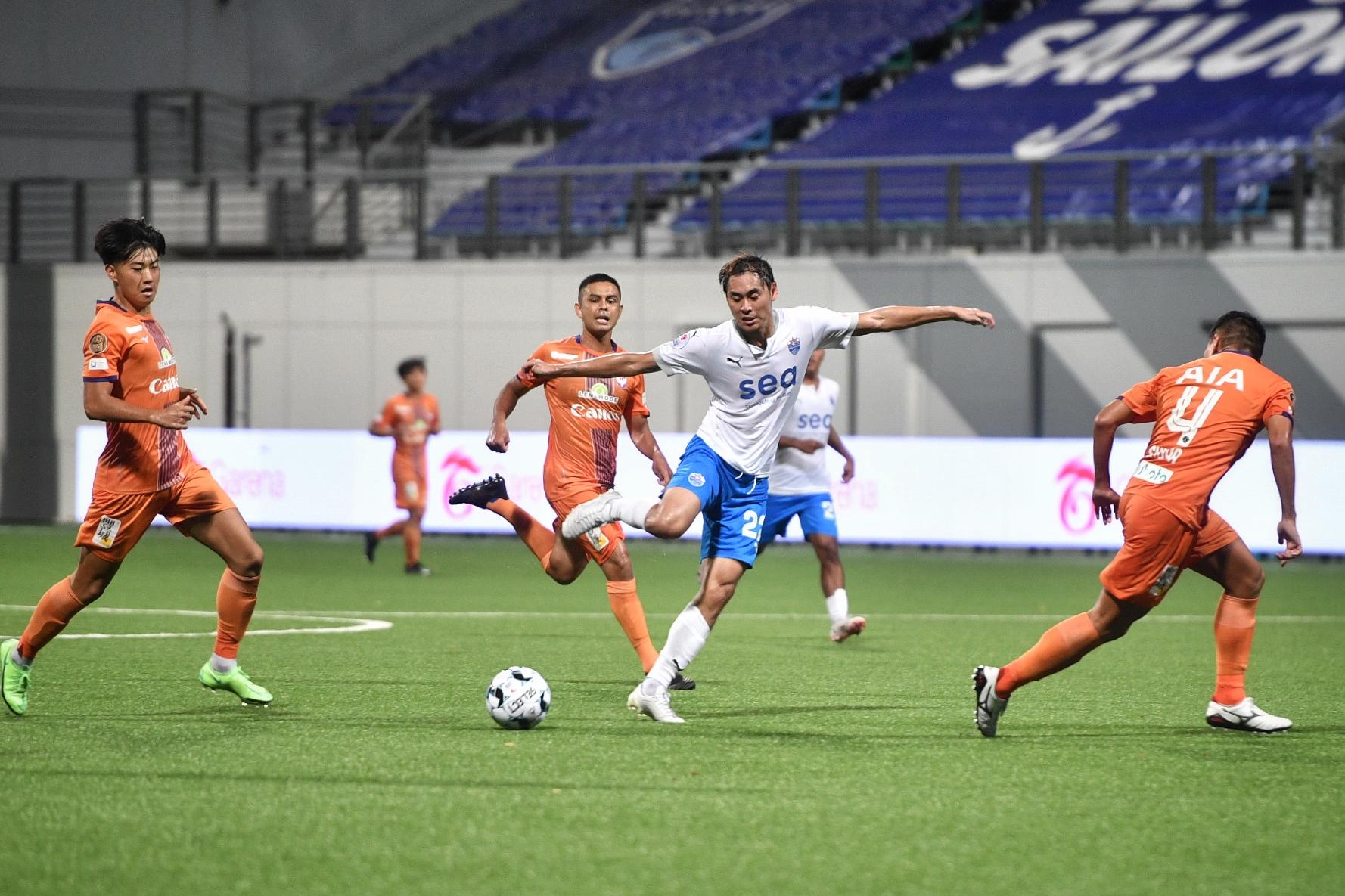 Football: Heartbreak for Sailors as Albirex snatch late equaliser and regain control of SPL title race