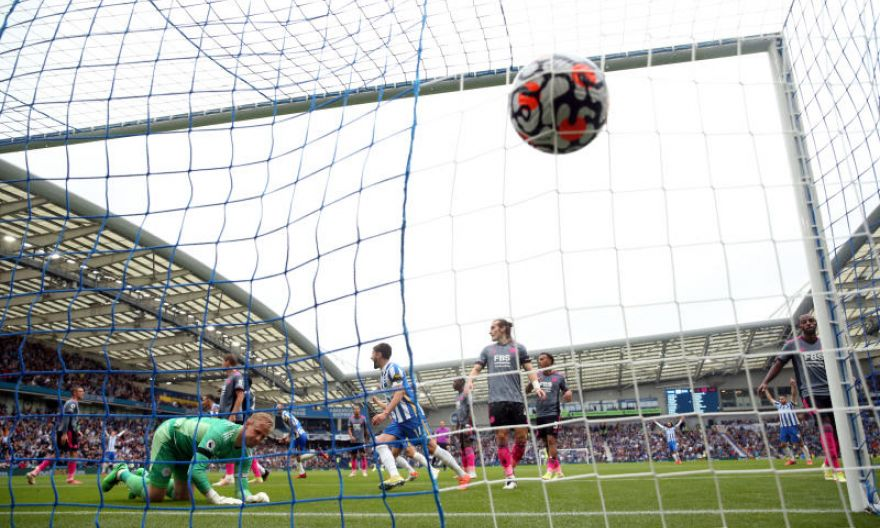 Football: High-flying Brighton earn 2-1 victory over Leicester