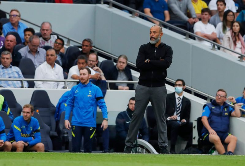 Soccer-Spurs have a lot of problems to fix, says boss Nuno