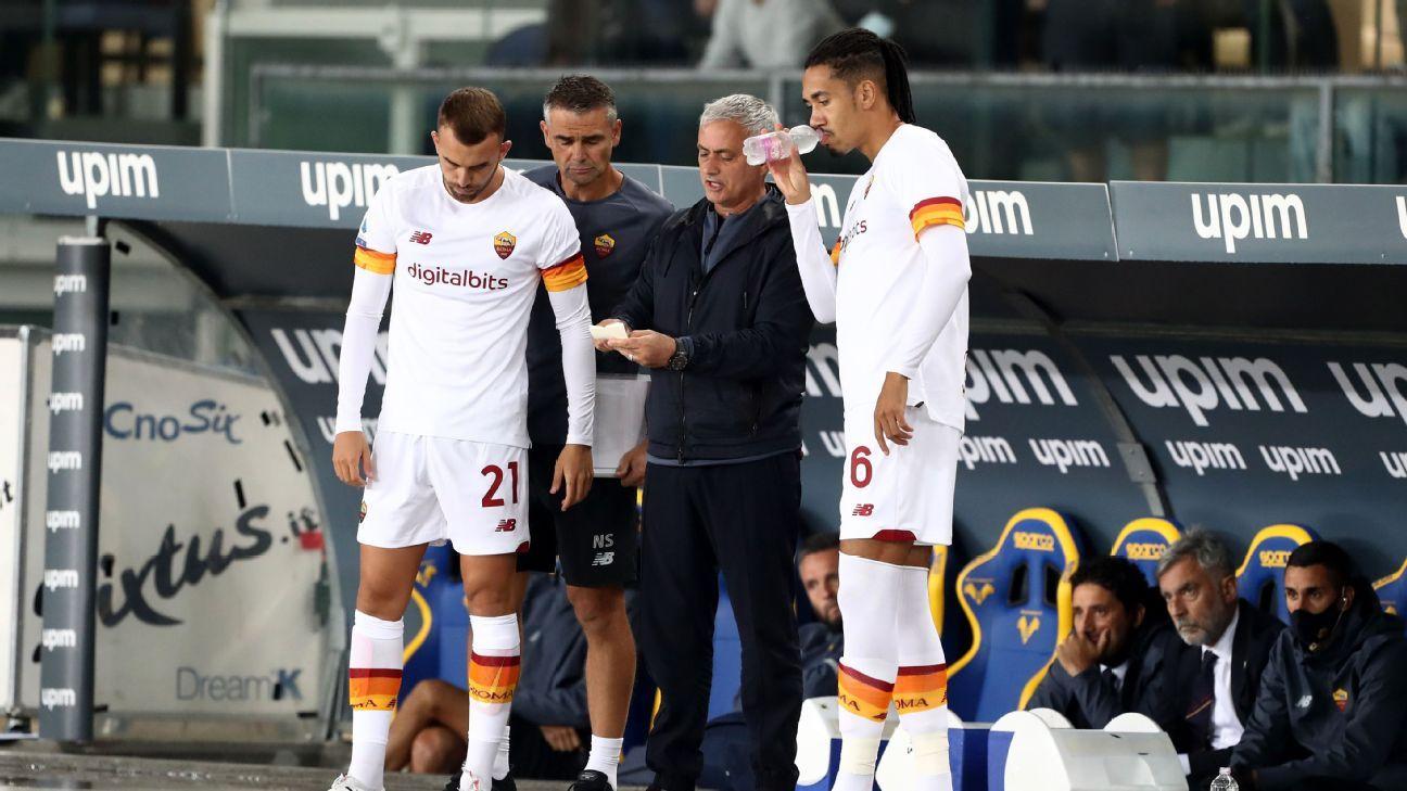 Hellas Verona vs. AS Roma - Football Match Report - September 19, 2021