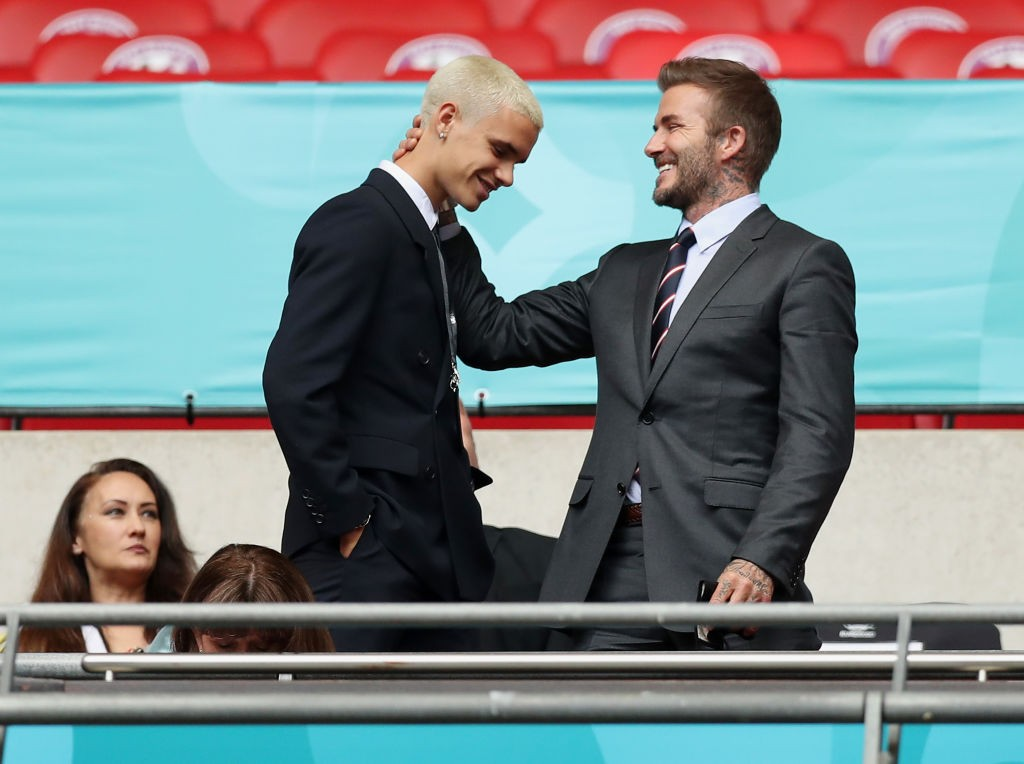 Romeo Beckham makes professional debut alongside another Manchester United legend's son for Fort Lauderdale