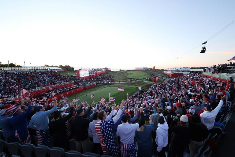 Fans create electric atmosphere to launch Ryder Cup